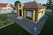 Фотореалистичная 3D визуализация экстерьера Вашего дома 373 - kwork.ru