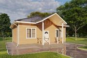 Фотореалистичная 3D визуализация экстерьера Вашего дома 241 - kwork.ru