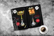 Дизайн меню для кафе и ресторана 46 - kwork.ru