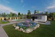 Фотореалистичная 3D визуализация экстерьера Вашего дома 250 - kwork.ru