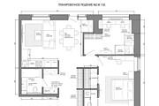 Планировочное решение вашего дома, квартиры, или офиса 98 - kwork.ru