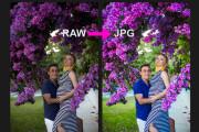 Для проф. фотографов - конвертация фото из RAW в JPG, 100 штук 31 - kwork.ru