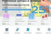 Скопировать Landing page, одностраничный сайт, посадочную страницу 146 - kwork.ru