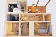 Оцифровка плана этажа, перечерчивание плана дома в Archicad 25 - kwork.ru