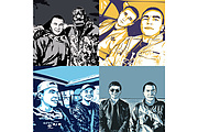 Качественный поп-арт портрет по вашей фотографии 87 - kwork.ru