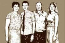 Качественный поп-арт портрет по вашей фотографии 103 - kwork.ru