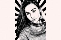 Качественный поп-арт портрет по вашей фотографии 101 - kwork.ru