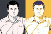 Качественный поп-арт портрет по вашей фотографии 110 - kwork.ru