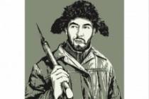 Качественный поп-арт портрет по вашей фотографии 107 - kwork.ru