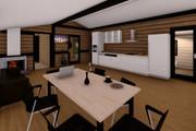 Фотореалистичная 3D визуализация экстерьера Вашего дома 377 - kwork.ru