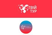 Создам 2 варианта логотипа + исходник 205 - kwork.ru