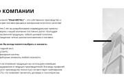 Стильный дизайн презентации 599 - kwork.ru