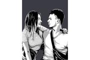 Качественный поп-арт портрет по вашей фотографии 69 - kwork.ru