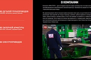 Создание сайта - Landing Page на Тильде 328 - kwork.ru