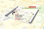Красивая схема и карта проезда 28 - kwork.ru