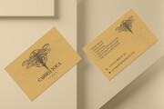 Дизайн визитки с исходниками 177 - kwork.ru