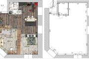 Интересные планировки квартир 127 - kwork.ru
