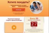 Продающий сайт - Лендинг под ключ, для любых целей 186 - kwork.ru