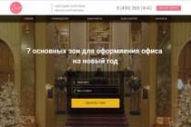 Продающий сайт - Лендинг под ключ, для любых целей 224 - kwork.ru
