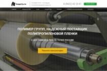 Продающий сайт - Лендинг под ключ, для любых целей 216 - kwork.ru