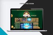 Первый экран Landing Page 46 - kwork.ru
