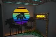 Визуализация торгового помещения, островка 95 - kwork.ru