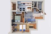 Создам планировку дома, квартиры с мебелью 87 - kwork.ru