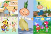 Детские Иллюстрации 6 - kwork.ru
