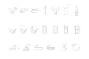 Иконки в уникальном стиле, для сайта и приложения Вашего Бренда 20 - kwork.ru