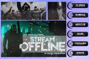 Оформление Twitch канала 204 - kwork.ru
