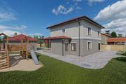 Фотореалистичная 3D визуализация экстерьера Вашего дома 261 - kwork.ru