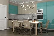 Дизайн-проект кухни. 3 варианта 60 - kwork.ru