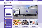 Дизайн страницы сайта в PSD 295 - kwork.ru