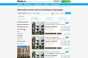 Дизайн страницы сайта в PSD 274 - kwork.ru