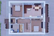 Фотореалистичная 3D визуализация экстерьера Вашего дома 318 - kwork.ru