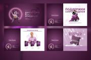 Оформление презентации товара, работы, услуги 113 - kwork.ru