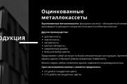 Стильный дизайн презентации 597 - kwork.ru