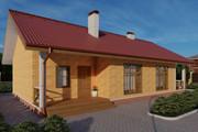 Фотореалистичная 3D визуализация экстерьера Вашего дома 301 - kwork.ru