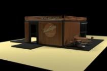 3D модель и визуализацию торгового места 79 - kwork.ru