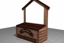 3D модель и визуализацию торгового места 73 - kwork.ru
