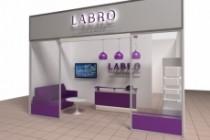 3D модель и визуализацию торгового места 68 - kwork.ru