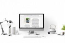 Создам дизайн страницы сайта 113 - kwork.ru
