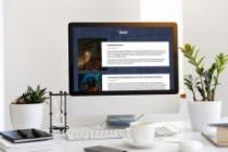 Создам дизайн страницы сайта 137 - kwork.ru
