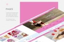 Создам дизайн страницы сайта 132 - kwork.ru