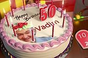 Именное видеопоздравление с юбилеем, Днем рождения - индивидуально 53 - kwork.ru