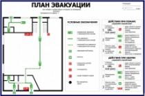 Нарисую эскиз плана эвакуации по ГОСТу 20 - kwork.ru