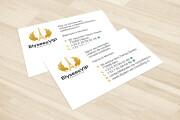 Дизайн визитки с исходниками 207 - kwork.ru