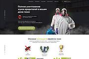 Дизайн страницы сайта 193 - kwork.ru