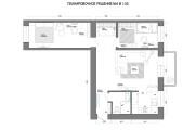 Планировочное решение вашего дома, квартиры, или офиса 113 - kwork.ru