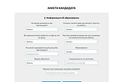 Сайт под ключ. Landing Page. Backend 518 - kwork.ru